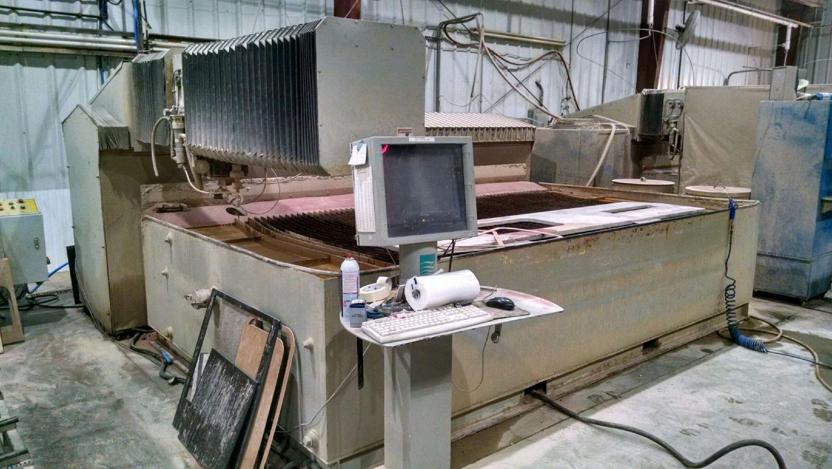S 2004 Flow Waterjet All Used Stone Equipment