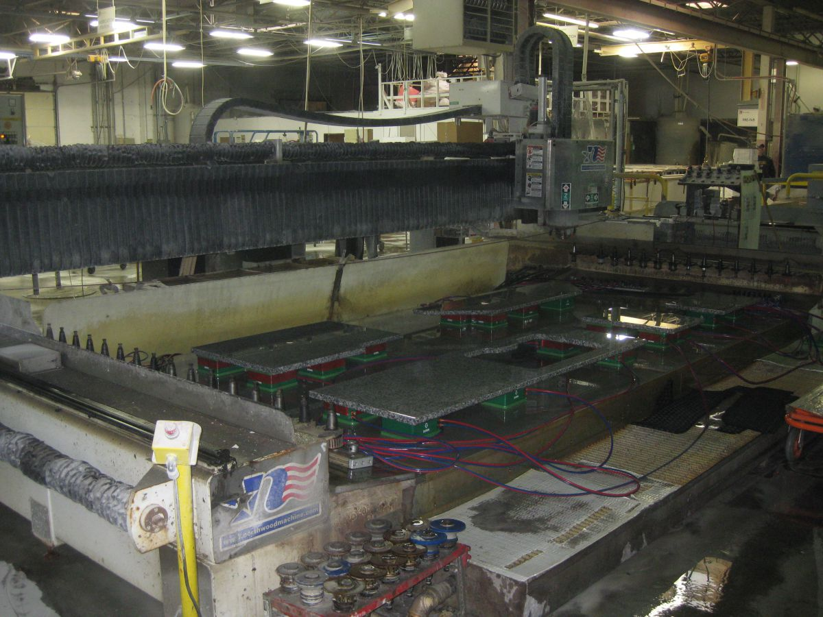 S) 2014 Northwood - 158 EDS - CNC Router - All Used Stone Equipment