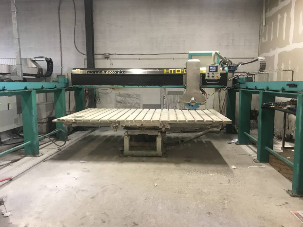 Cnc Router Table >> (S) Bridge Saw For Sale - 2007 Marmo Meccanica - All Used ...